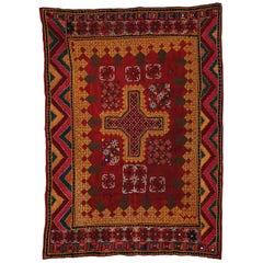 Embroidered Cradle Cloth 'Ghodiyu', Gujarat, India, circa 1900