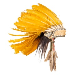 Southern Plains Headdress, circa 1900