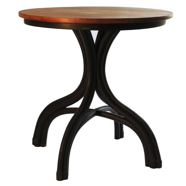 Thonet Bentwood Cafe Table, circa 1900