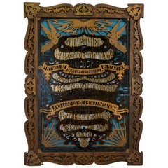 "Circa 1900 Wood Cutout of ""The Lord's Prayer"""