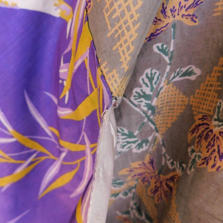 Taisho Period Japanese Juban Silk Kimono, circa 1920 For Sale 6