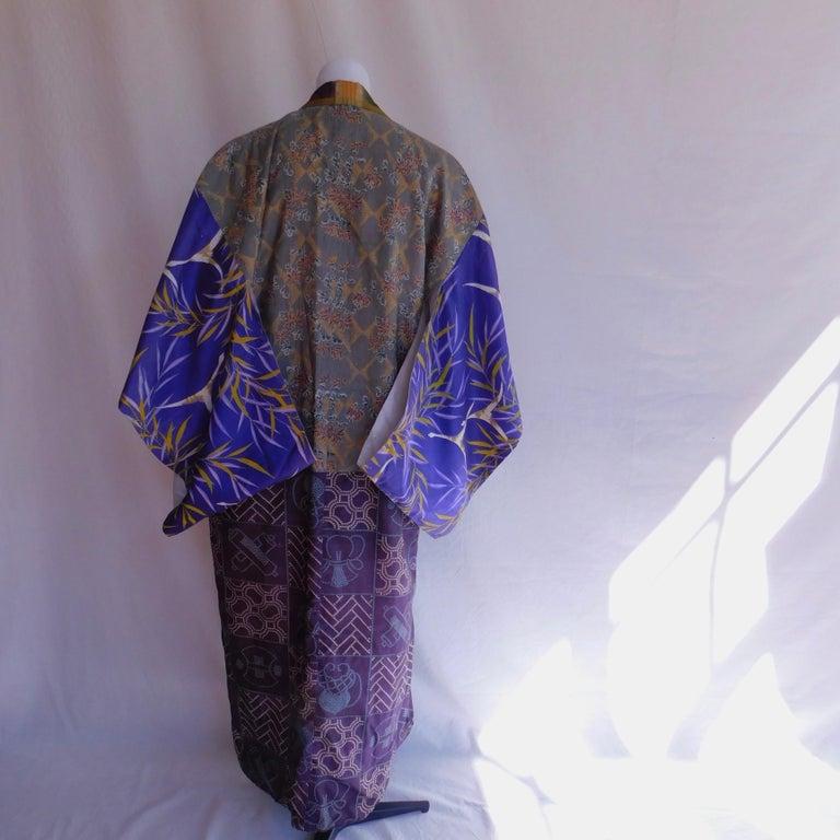 Taisho Period Japanese Juban Silk Kimono, circa 1920 In Good Condition For Sale In Antwerp, BE