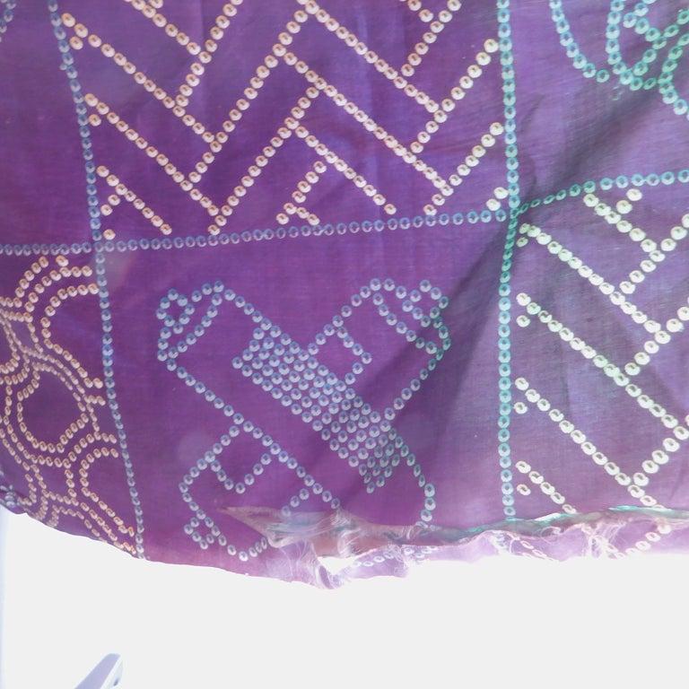 Taisho Period Japanese Juban Silk Kimono, circa 1920 For Sale 1