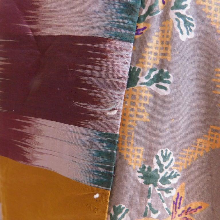 Taisho Period Japanese Juban Silk Kimono, circa 1920 For Sale 2