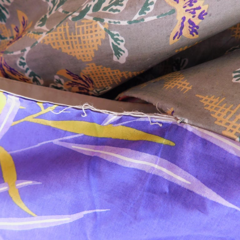 Taisho Period Japanese Juban Silk Kimono, circa 1920 For Sale 4