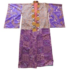 Taisho Period Japanese Juban Silk Kimono, circa 1920
