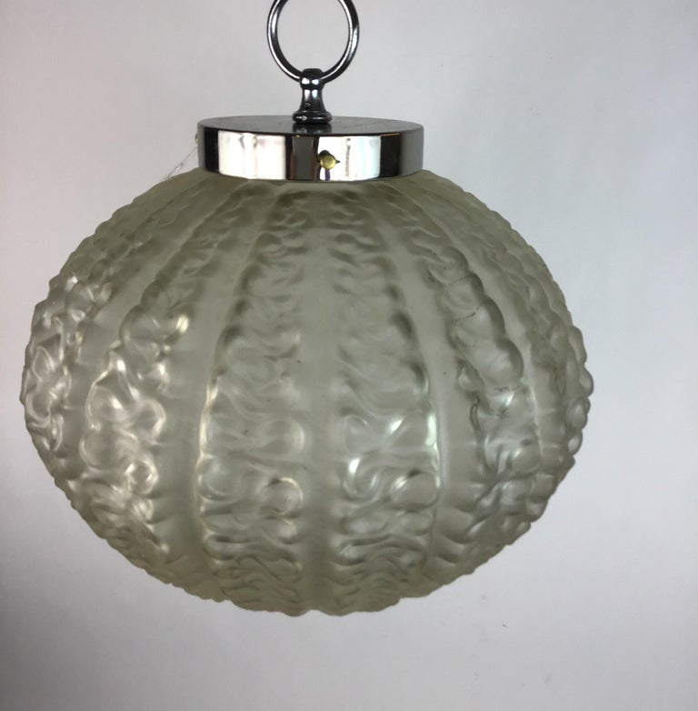 Nautical Cased Glass Pendant, circa 1920s For Sale 1