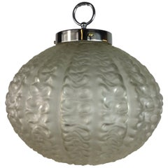 Nautical Cased Glass Pendant, circa 1920s
