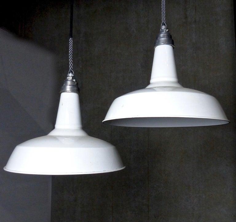 Style Enamel Pendant Lights