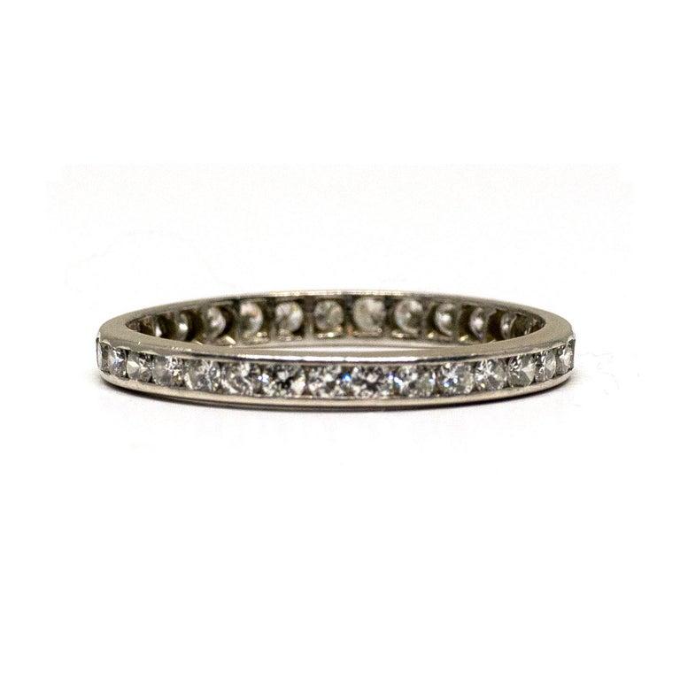 Description:  Here we have a 1940s Platinum diamond