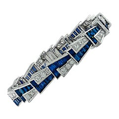 Platinum Modern Bracelets