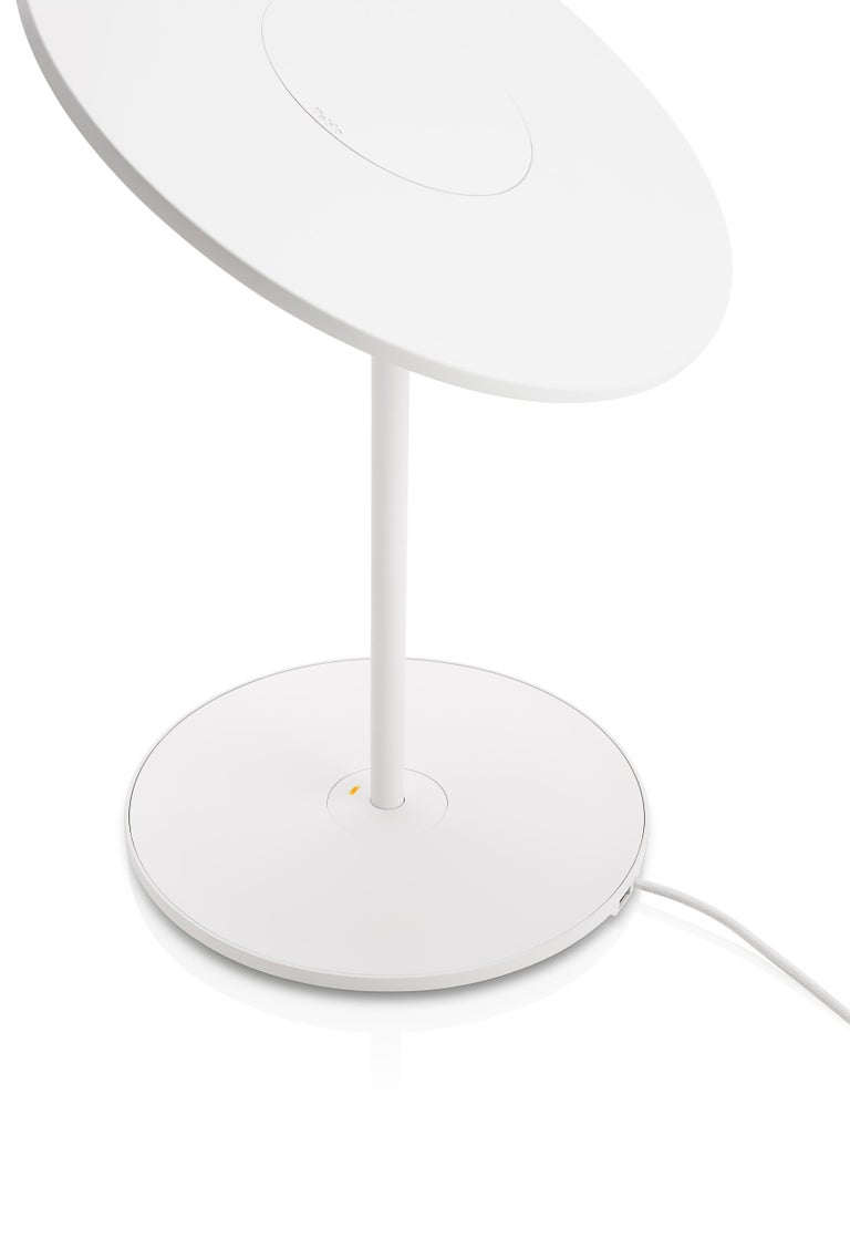 Circa Table Lamp In White By Pablo Designs For Sale At 1stdibs