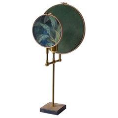 Circle Blue Grey, Table Lamp, Sander Bottinga