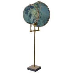 Circle Blue Grey Table Lamp, Sander Bottinga