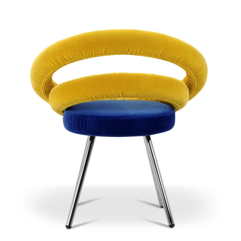 Circle Chair by Roberto Giacomucci and Nicola Cerasa In New Condition For Sale In Milan, IT