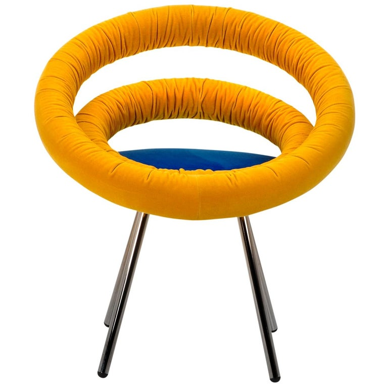 Circle Chair by Roberto Giacomucci and Nicola Cerasa For Sale