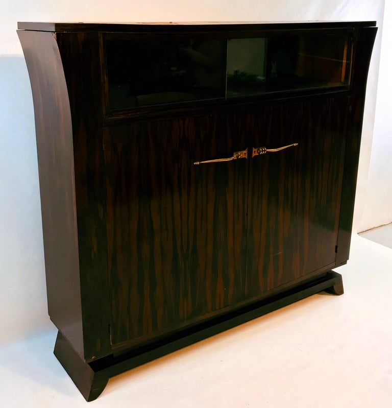 French Circle of / Follower of Jacques-Emile Ruhlmann, Art Deco Sideboard, 1920s For Sale