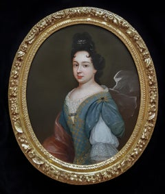Portrait of a Lady, Fine Carved Period Frame