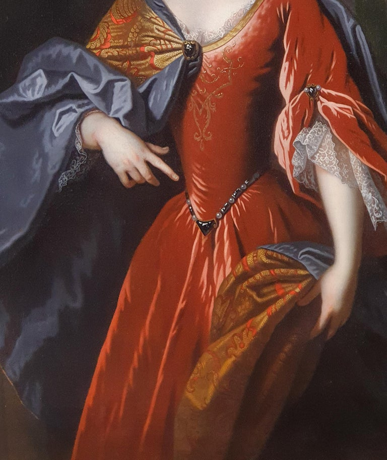 Portrait of Renée Bouthillier de Chavigny, French Chateau Provenance 5