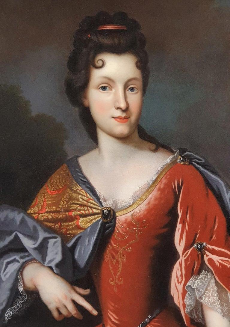 Portrait of Renée Bouthillier de Chavigny, French Chateau Provenance 1