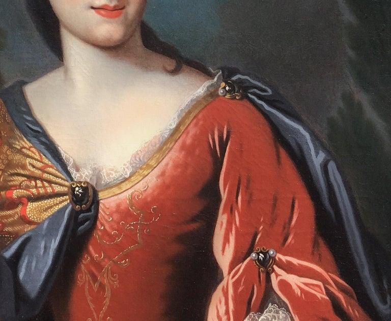 Portrait of Renée Bouthillier de Chavigny, French Chateau Provenance 2