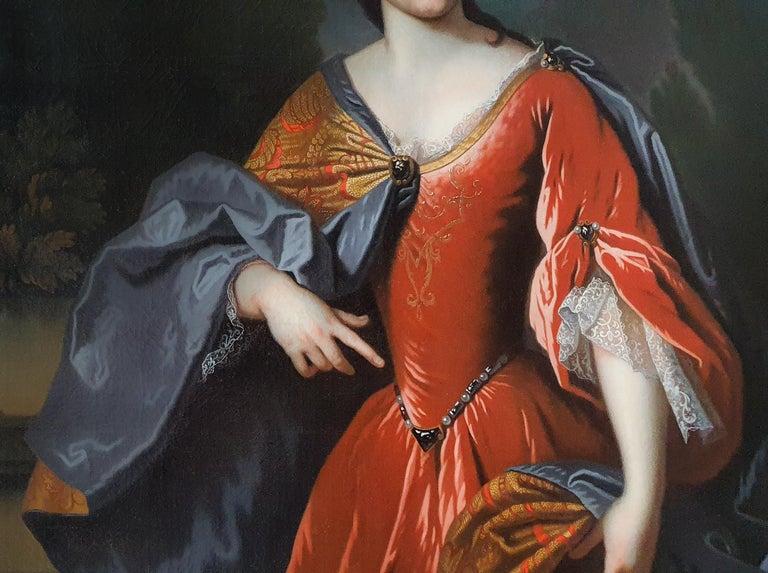 Portrait of Renée Bouthillier de Chavigny, French Chateau Provenance 4
