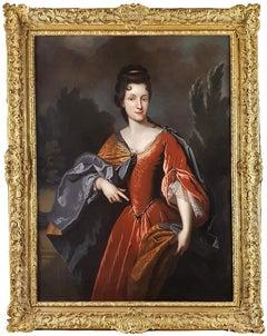 Portrait of Renée Bouthillier de Chavigny, French Chateau Provenance