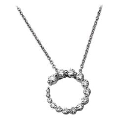 Circle of Life Diamond Pendant Necklace