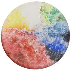 """Circle of Life"", Mixed-Media on Canvas, Medium Size, 2014"