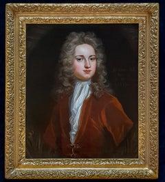 Portrait of John Gore (c.1689-1763), Fine Carved Gilded Frame, Good Provenance