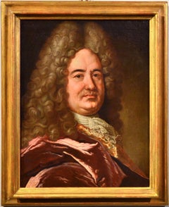 Portrait gentleman 17th Century Paint Oil on canvas Old master France Art