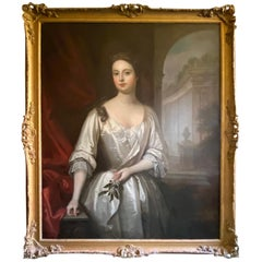 Circle of Sir Godfrey Kneller Portrait of Duchess of Bolton