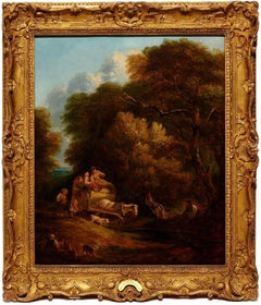 Thomas Gainsborough Landscape Oil Painting