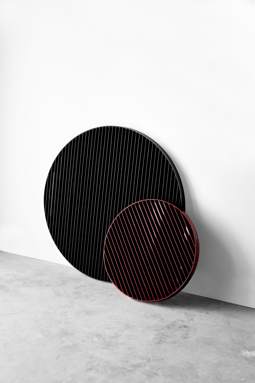 Circular Decorative Mirror Laws Of Motion Collection By Joel Escalona Medium