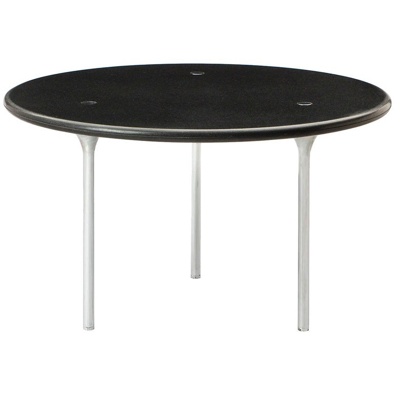 Circular Dining Table by Laverne International For Sale