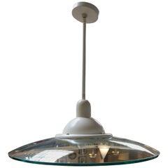 Circular Glass Pendant Light