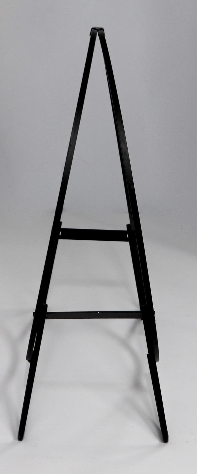 Circular Mid Century Wrought Iron Log Holder For Sale 1