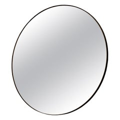 Circular Mirror Handcrafted and Signed by Novocastrian