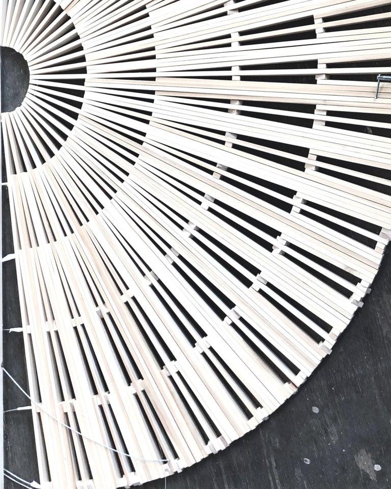 Circular Screens and Room Dividers, Spatial Hanging Screen by Rive Roshan For Sale 5