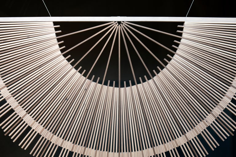 Contemporary Circular Screens and Room Dividers, Spatial Hanging Screen by Rive Roshan For Sale