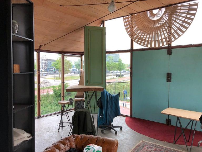 Circular Screens and Room Dividers, Spatial Hanging Screen by Rive Roshan For Sale 2