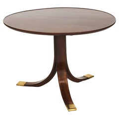 Circular Side Table By Frits Henningsen