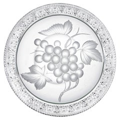 Circular Tray Signed Tuthill