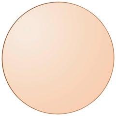 Circum Amber 110 Round Mirror by AYTM