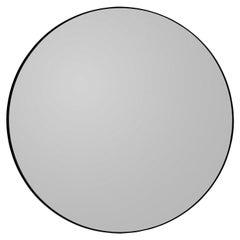 Circum Black 110 Round Mirror