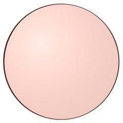 Circum Pink 110 Round Mirror by AYTM