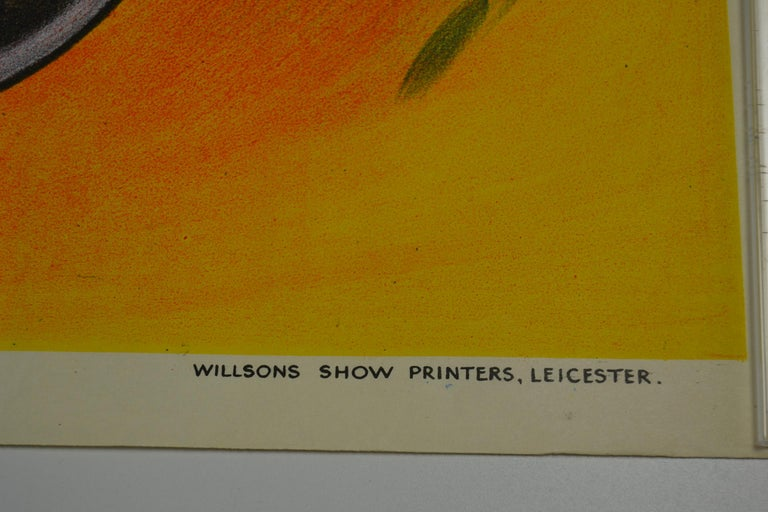 Circus Poster Clown 'Pierrot' Circus Scenes Printed by Willsons Leicester For Sale 3