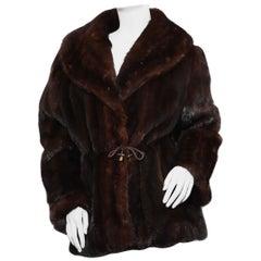 Cirilo Fernandez   mink adjustable coat