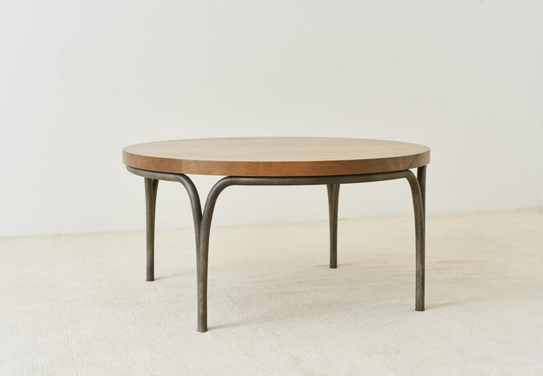 Patinated Cirrus Coffee Table For Sale