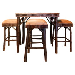 Cisco's Adirondack Game Table and Stools